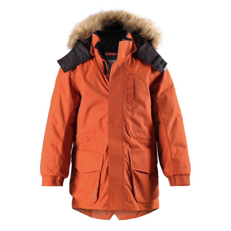 reima tec zimní bunda Naapuri fox hnědá