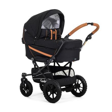 Emmaljunga Kinderwagen Edge Duo S Outdoor Black