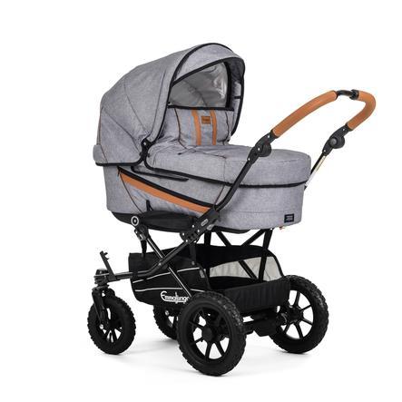 Emmaljunga Kinderwagen Edge Duo S Outdoor Grey