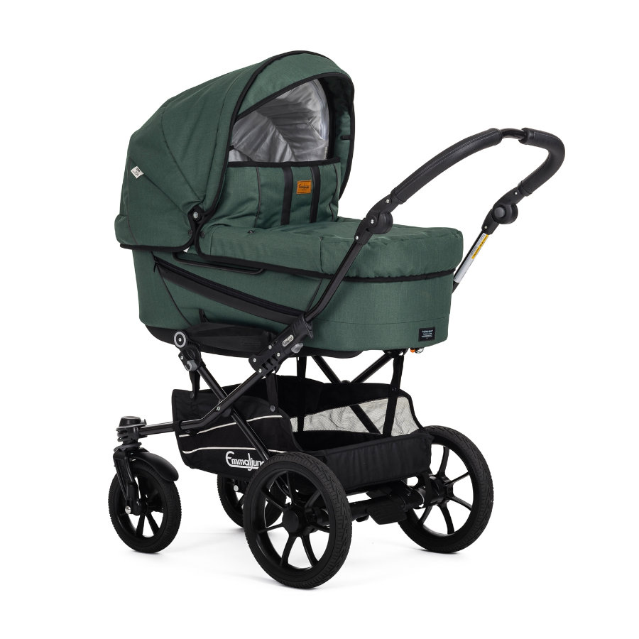 Emmaljunga Kinderwagen Edge Duo S Competiton Eco Green