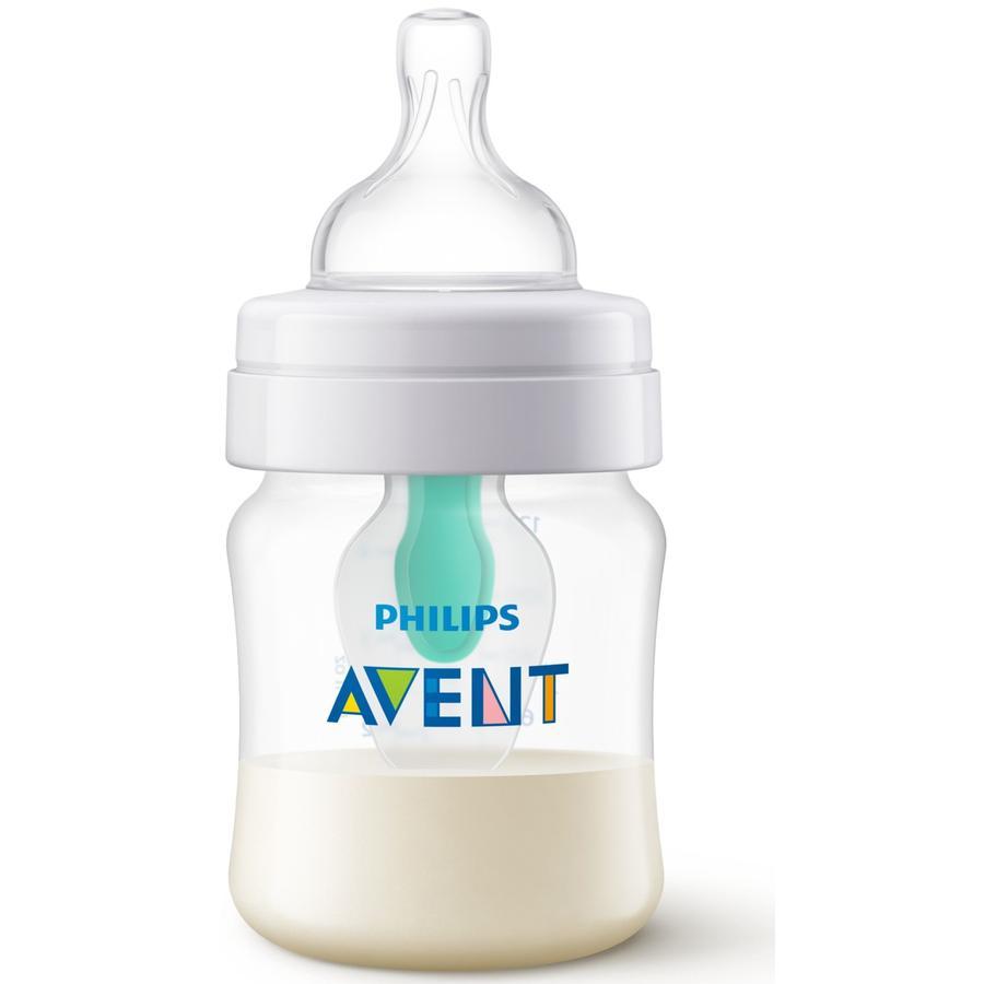 Philips Avent antikolikkflaske SCF810 / 14 inkl. AirFree-ventil, 125 ml, 1 stk, gjennomsiktig