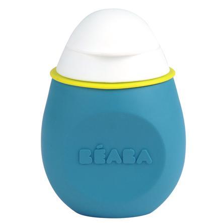 BEABA Babyflasche Babysqueez´ 2 in 1 blau 180 ml