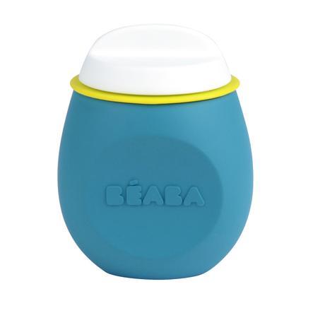 BEABA Pot de conservation Squeez´Portion bleu 180 ml