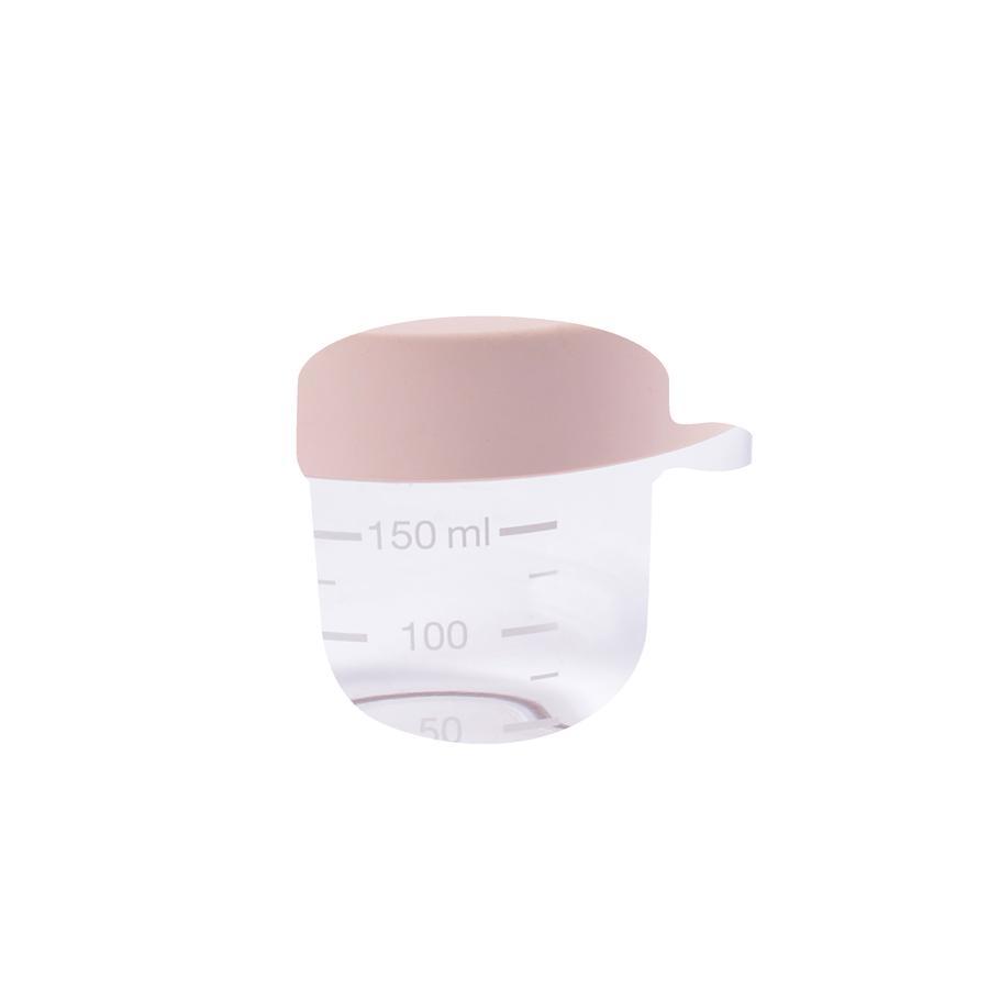 BEABA Pot de conservation verre rose 150 ml