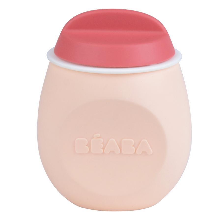 BEABA Aufbewarhungsbehälter Squeez´Portion pink 180 ml