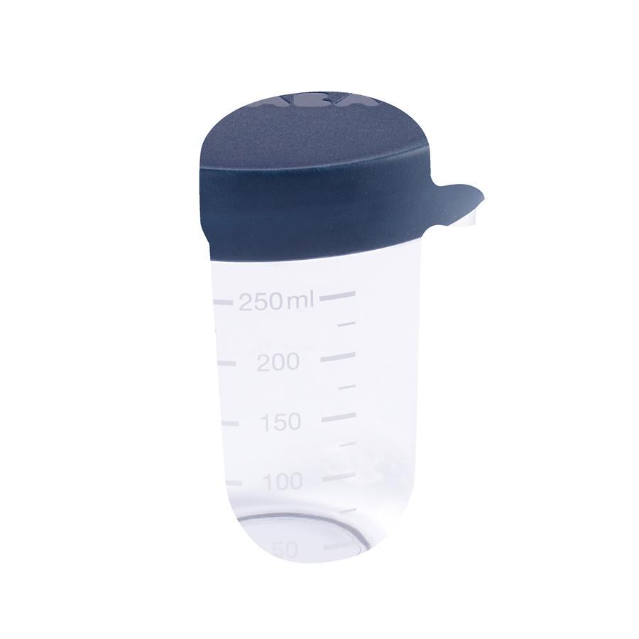 BEABA Pot de conservation verre bleu 250 ml