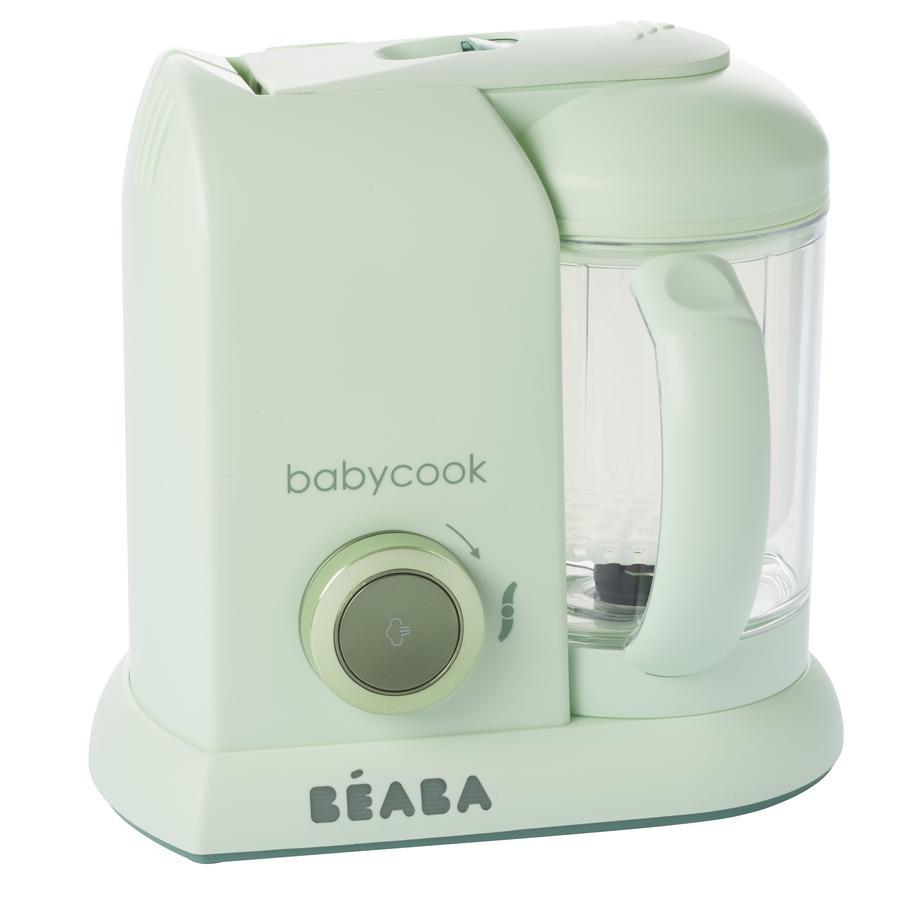 Beaba Parní vařič mixér BABYCOOK MACARON Jade Green