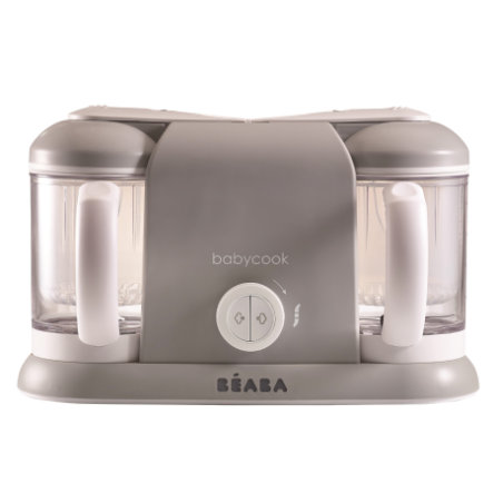 BEABA Robot Babycook Plus 4 en 1, gris