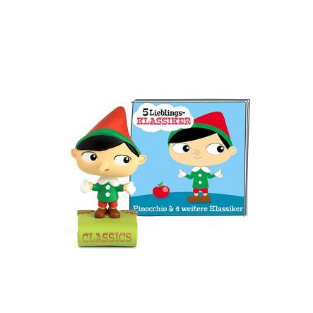 tonies® 5 Lieblings-Klassiker - Pinocchio und weitere Klassiker