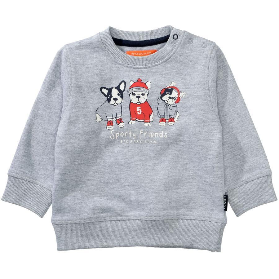 STACCATO Boys Sweatshirt light grey melange