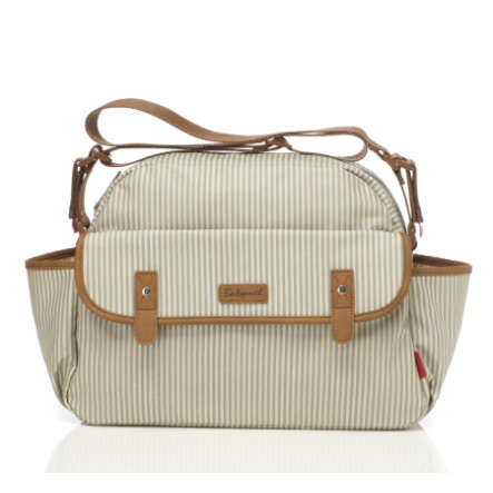Babymel Wickeltasche Molly Stripe Grey