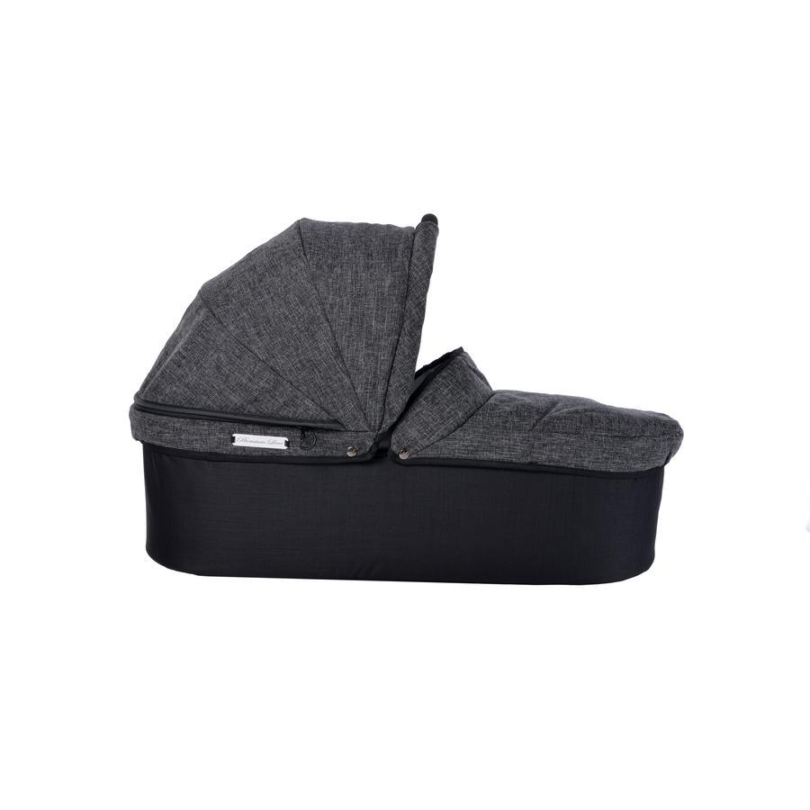 tfk Nacelle de poussette Twin Premium anthracite, adaptateurs