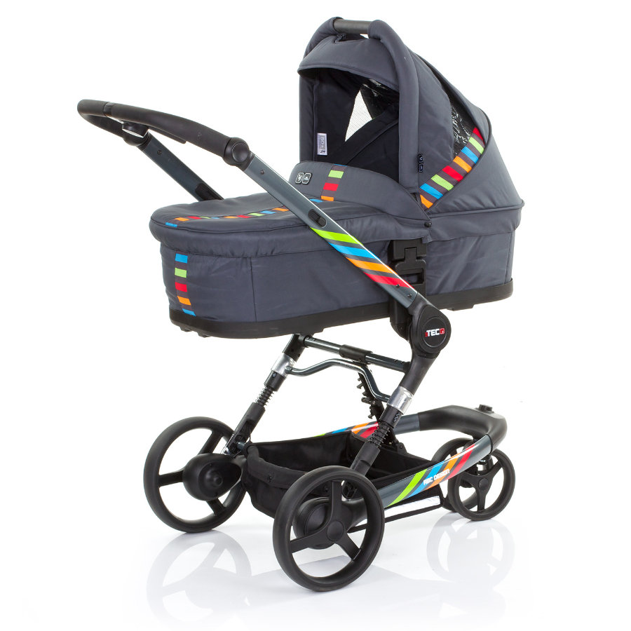 ABC DESIGN Kombikinderwagen 3 Tec plus RAINBOW