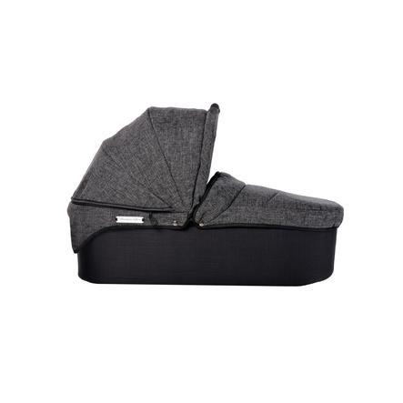 tfk Nacelle de poussette Twin DuoX Premium anthracite, adaptateurs