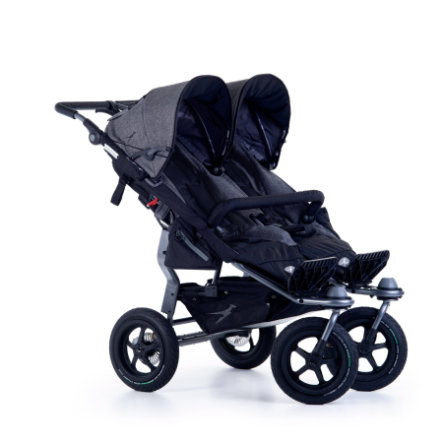 tfk Zwillingswagen Twin Adventure 2 Premium Grey