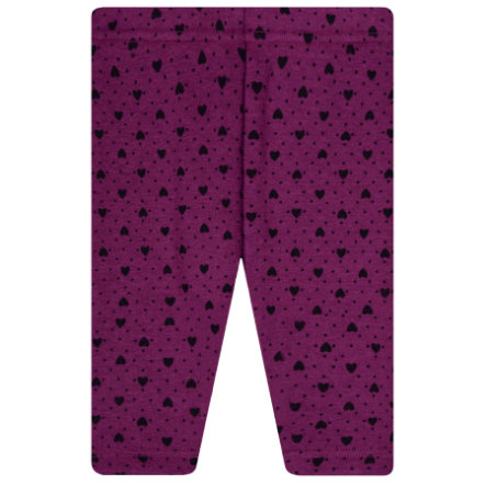 STACCATO  Girls Thermo leggings purple mønstret