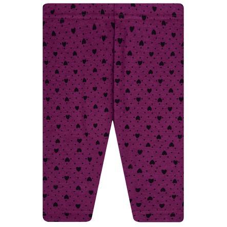 STACCATO tyttöjen Thermoleggings -violetti kuvioitu