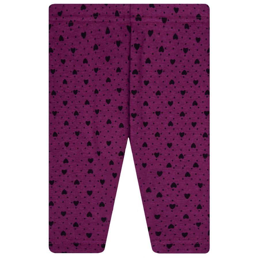 STACCATO  Girls Thermo legíny purple vzorované