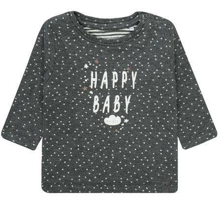 STACCATO NB Koszulka w kolorze ciemnoszarym melanżowym z wzorzystym wzorem