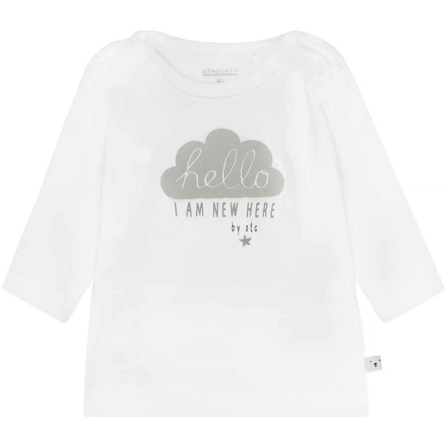 STACCATO NB Overhemd gebroken wit