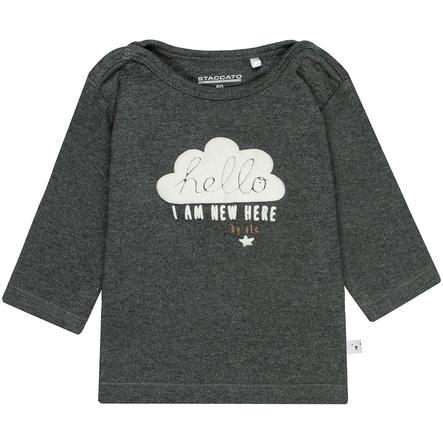 STACCATO NB Shirt dark grey melange