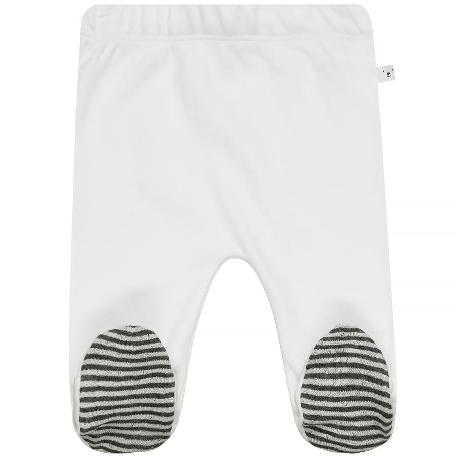 STACCATO NB Broek gebroken wit met voetje