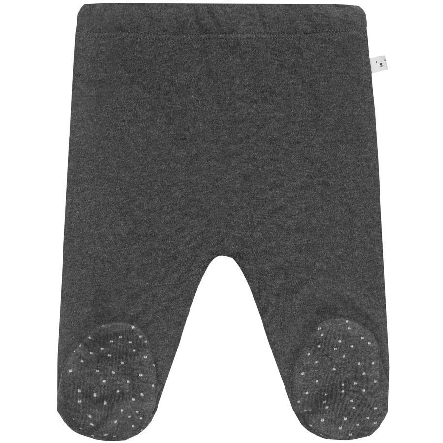STACCATO NB-broek met voet donker grafietmelange met donker grafiet
