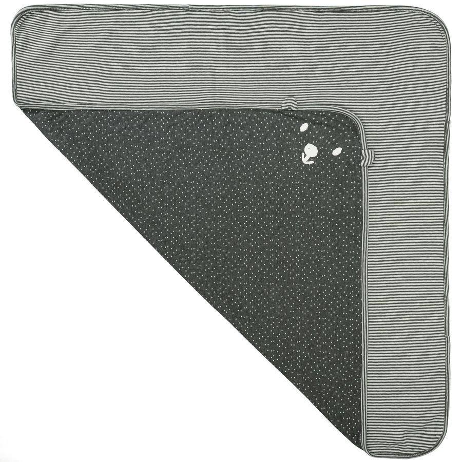 STACCATO couverture dark graphit à motifs 80 x 80 cm