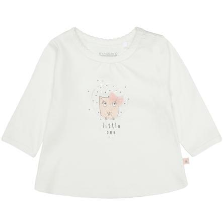STACCATO Girl s T-shirt blanc cassé