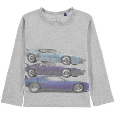 TOM TAILOR camisa manga Boys larga azul
