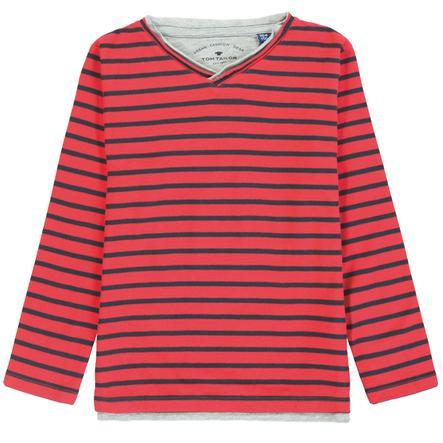 TOM TAILOR Pojke T-shirt, röd