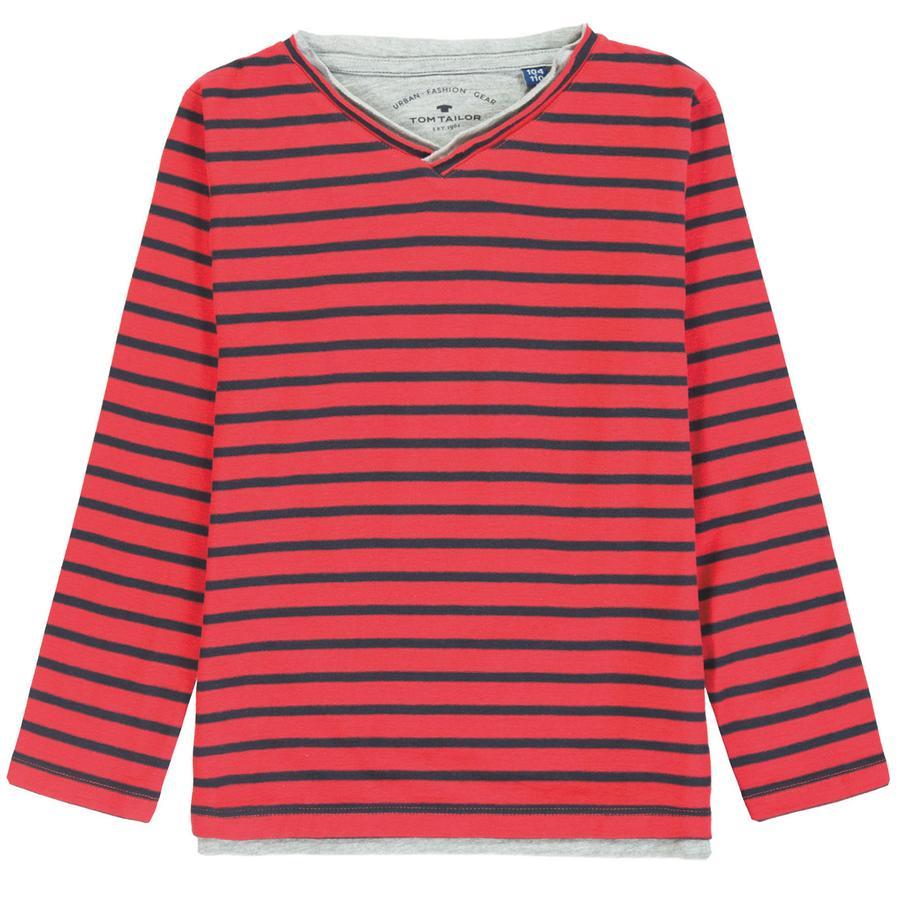 TOM TAILOR Boys T-Shirt , czerwony