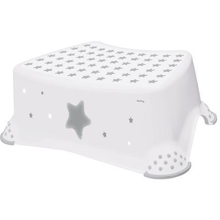 keeeper Sgabello antiscivolo stars bianco