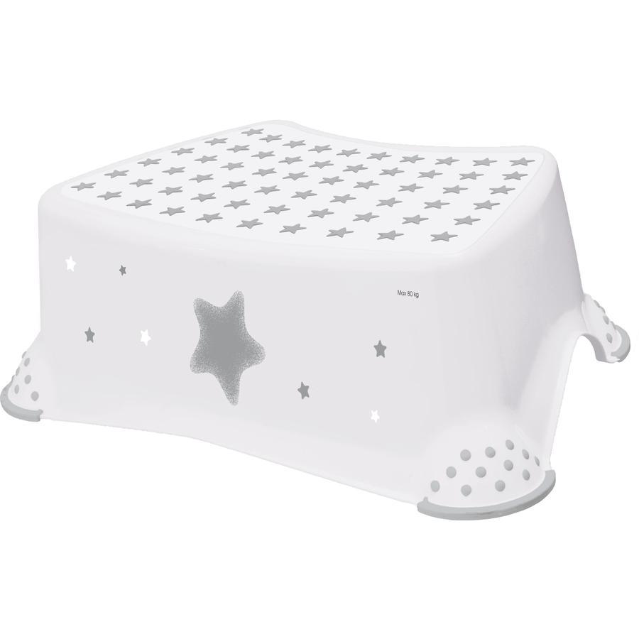keeeper stolička jednostupňová s protiskluzovou funkcí, hvězdy bílá