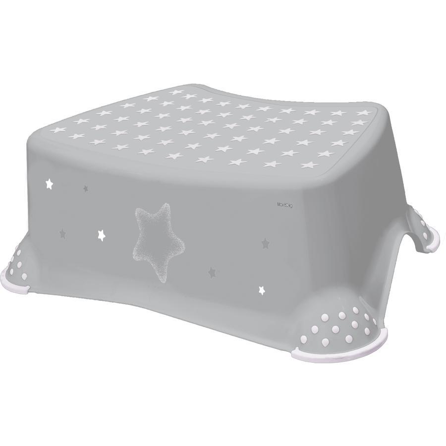 keeeper stolička jednostupňová s protiskluzovou funkcí hvězdy šedá
