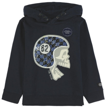 TOM TAILOR Hooded Sweatshirt met Boys kap, blauw