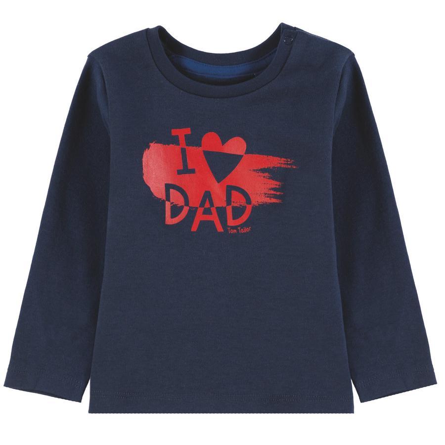 TOM TAILOR T-skjorte for gutter, blå