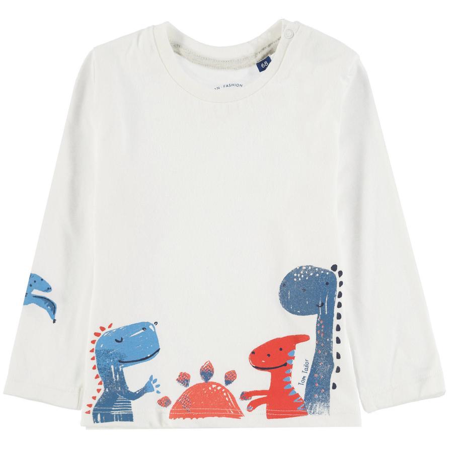 TOM TAILOR Chlapecké tričko, bílé