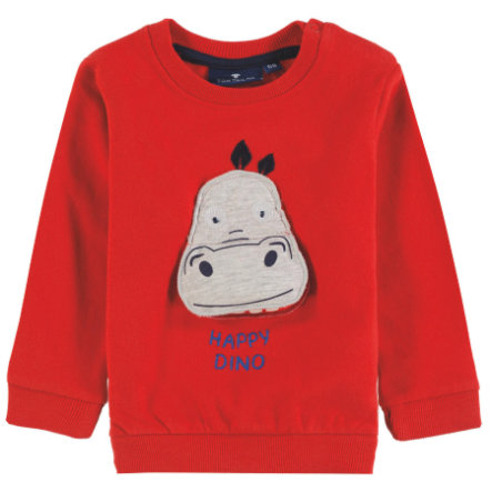 TOM TAILOR Baby Boys Sweatshirt, rot