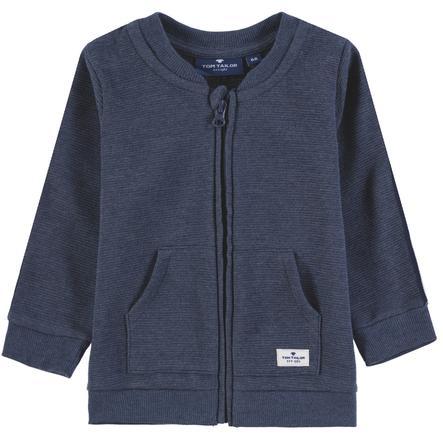 TOM TAILOR Dětská chlapecká tepláková bunda, barevná