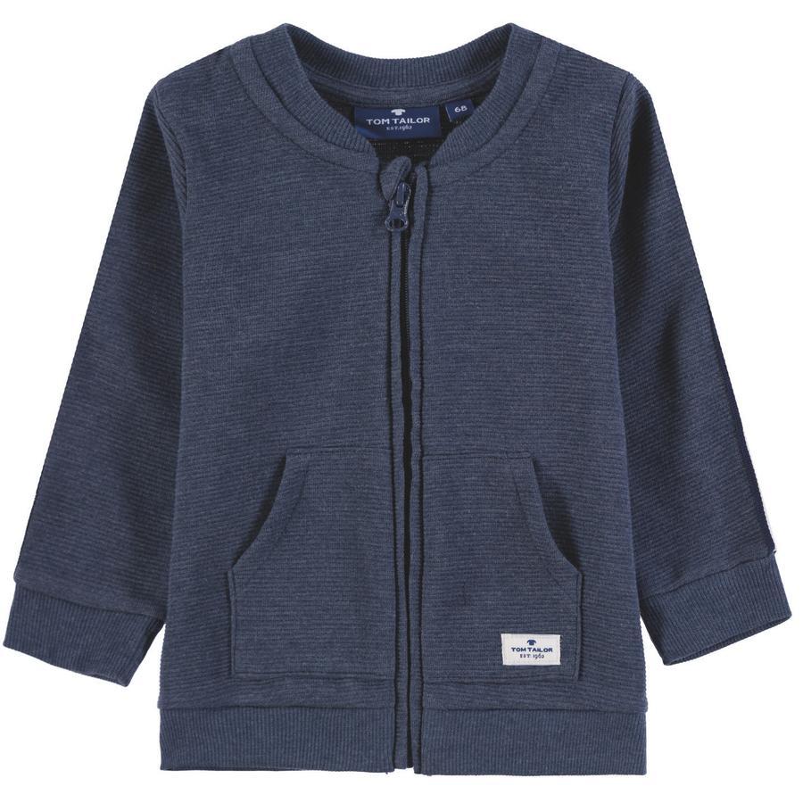 Boys Chaqueta TOM TAILOR Baby Sweat Jacket, multicolor