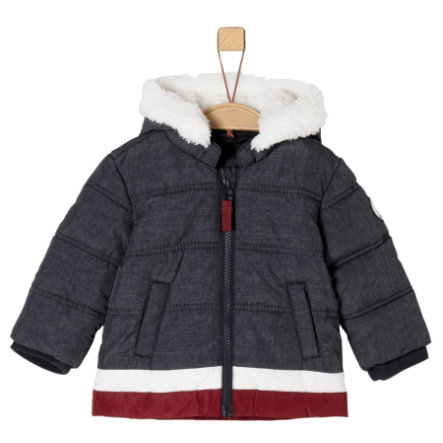 s.Oliver Boys Winterjacke dark blue melange