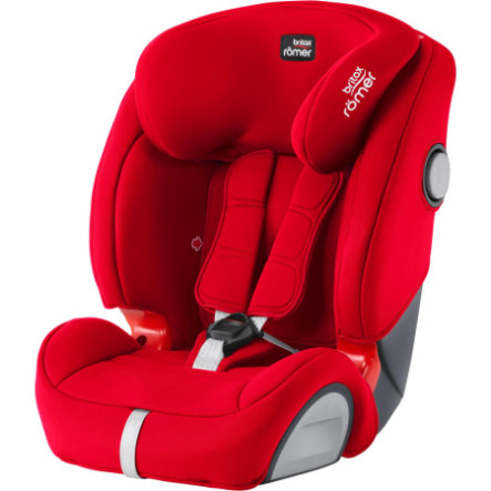 britax r mer autostoel evolva 123 sl sict fire red. Black Bedroom Furniture Sets. Home Design Ideas