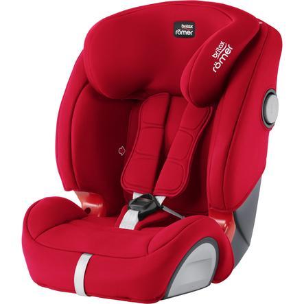 britax römer Silla de coche Evolva 123 SL SICT Fire Red