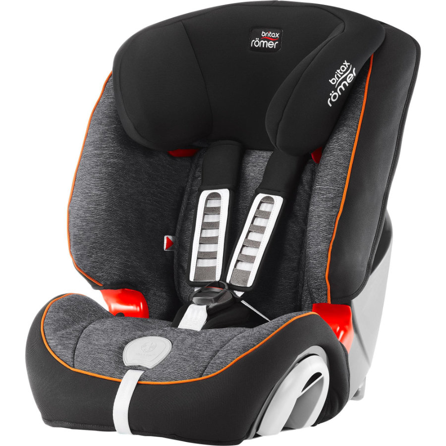 BRITAX Römer Evolva 123 Plus 2018 Black Marble