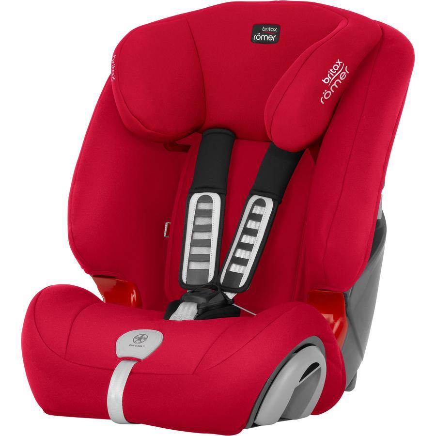 Britax Römer Silla de coche  Evolva 123 plus Fire Red