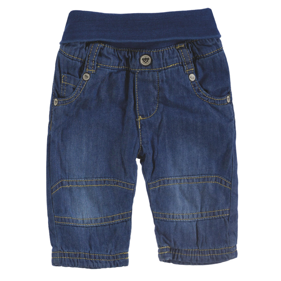 Steiff Boys Jeans, denim blu scuro