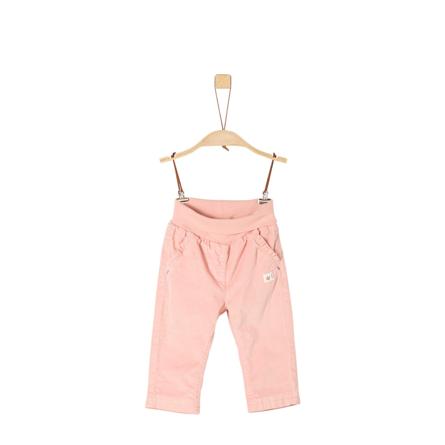 s.Oliver Girls Cordhose pink