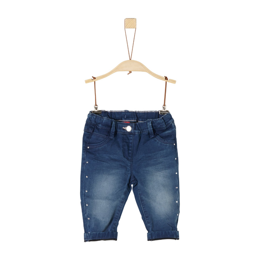 s.Oliver Girl jean extensible en jean bleu foncé