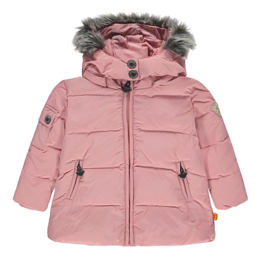 Steiff Girl s abajo abrigo, rosa